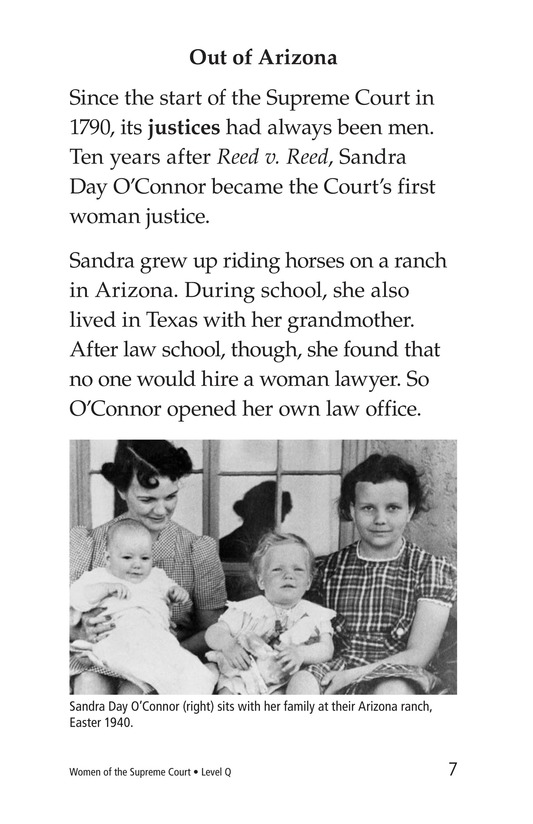 Book Preview For Women of the Supreme Court Page 7