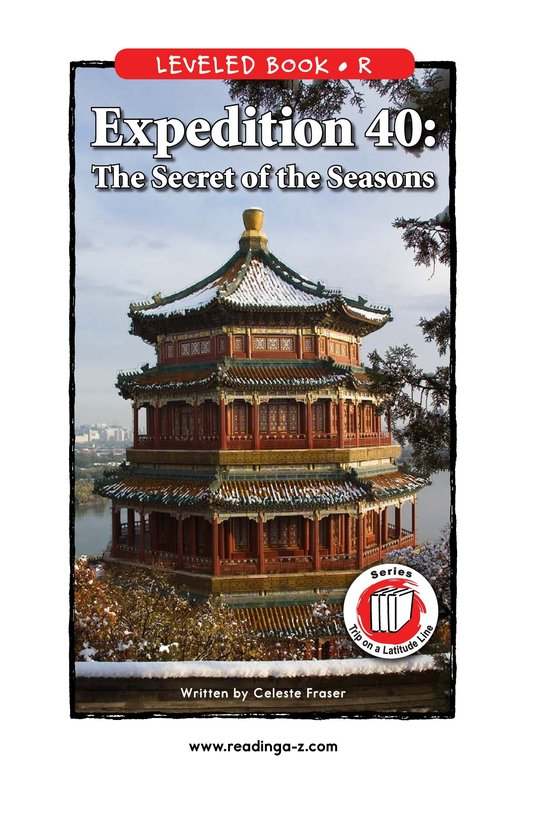 Book Preview For Expedition 40: The Secret of the Seasons Page 1