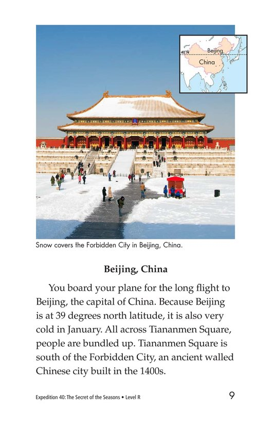 Book Preview For Expedition 40: The Secret of the Seasons Page 9
