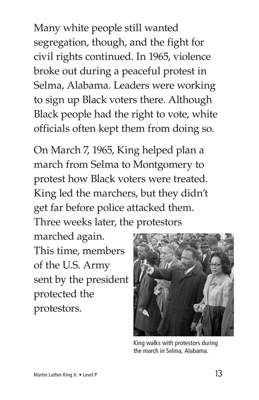 Book Preview For Martin Luther King, Jr. Page 13