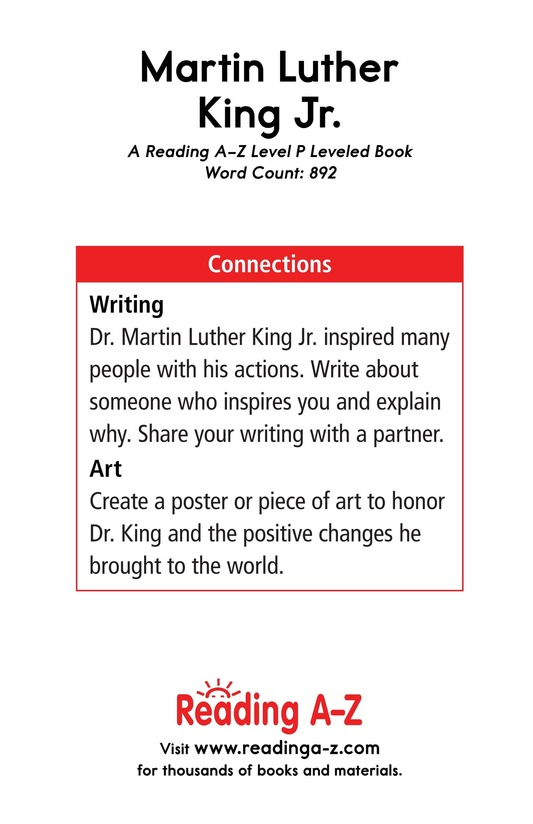 Book Preview For Martin Luther King, Jr. Page 17