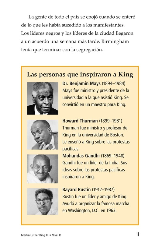 Book Preview For Martin Luther King, Jr. Page 11
