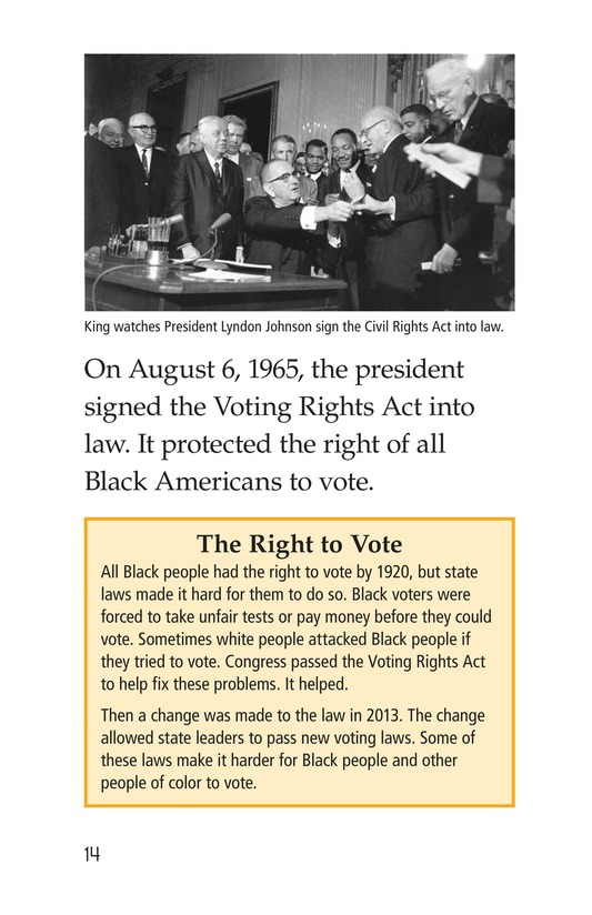 Book Preview For Martin Luther King, Jr. Page 14