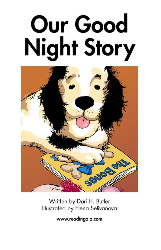 Book Preview For Our Good Night Story Page 2