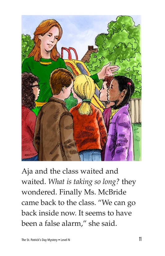 Book Preview For The St. Patrick's Day Mystery Page 11
