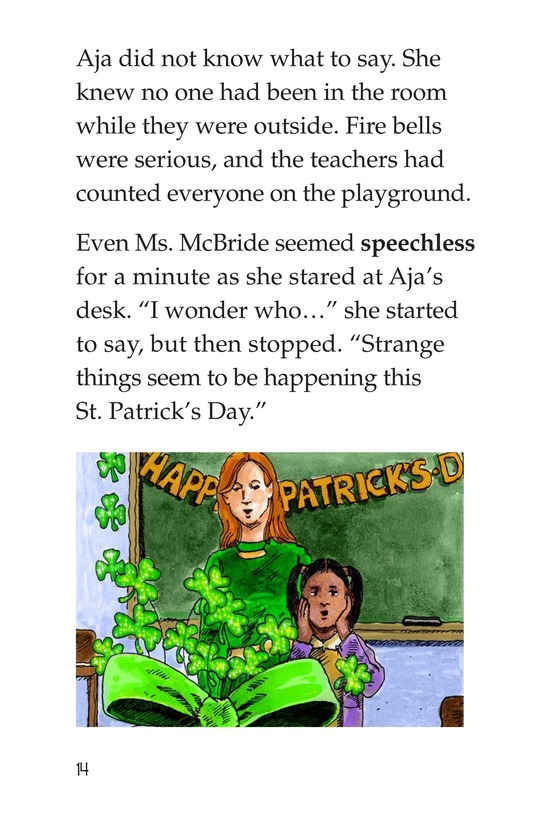 Book Preview For The St. Patrick's Day Mystery Page 14