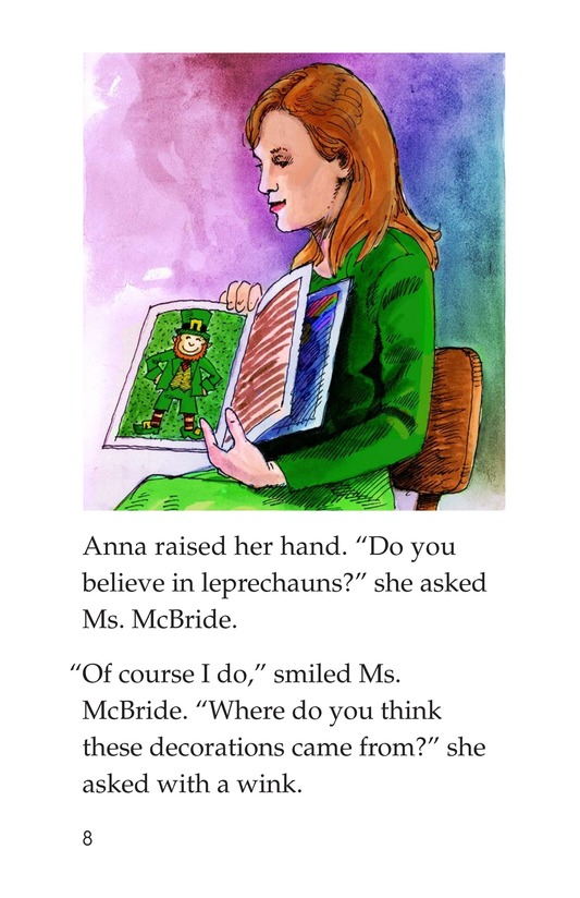 Book Preview For The St. Patrick's Day Mystery Page 8