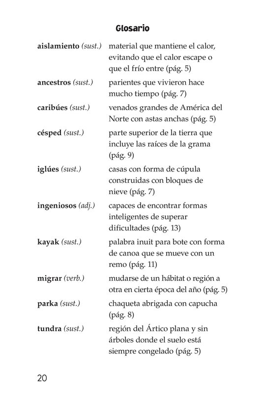 Book Preview For The Inuit: Northern Living Page 20