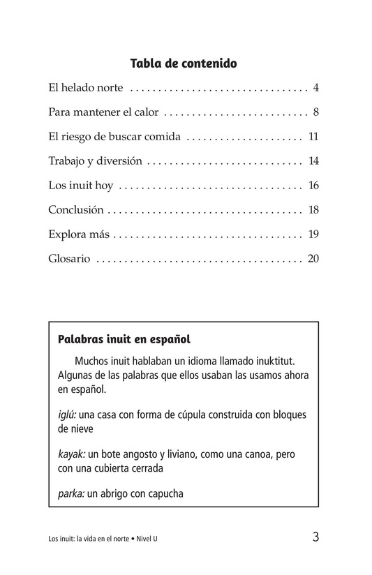 Book Preview For The Inuit: Northern Living Page 3