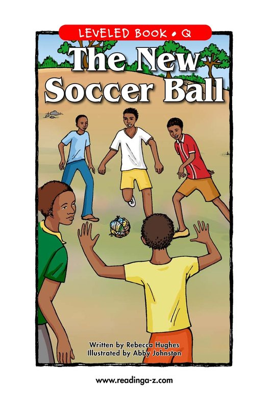 Book Preview For The New Soccer Ball Page 1
