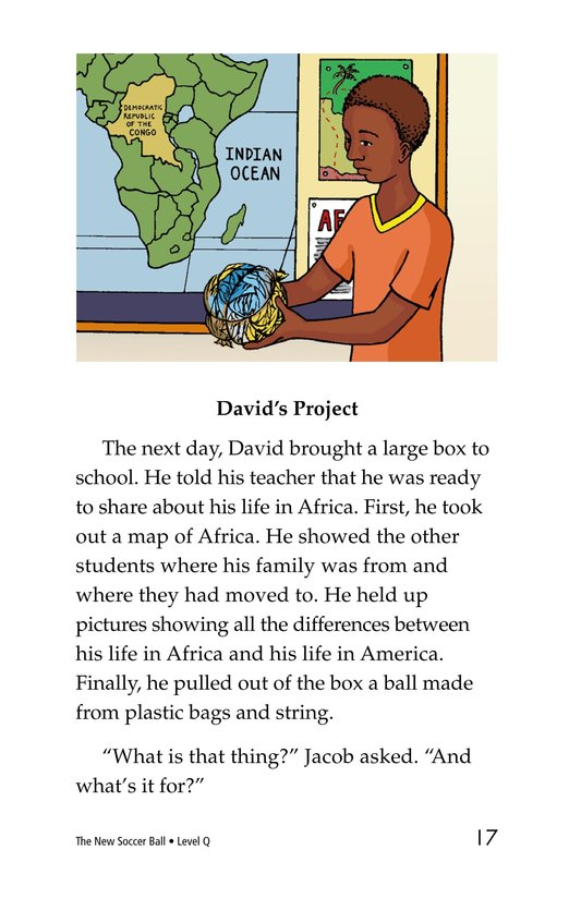 Book Preview For The New Soccer Ball Page 17