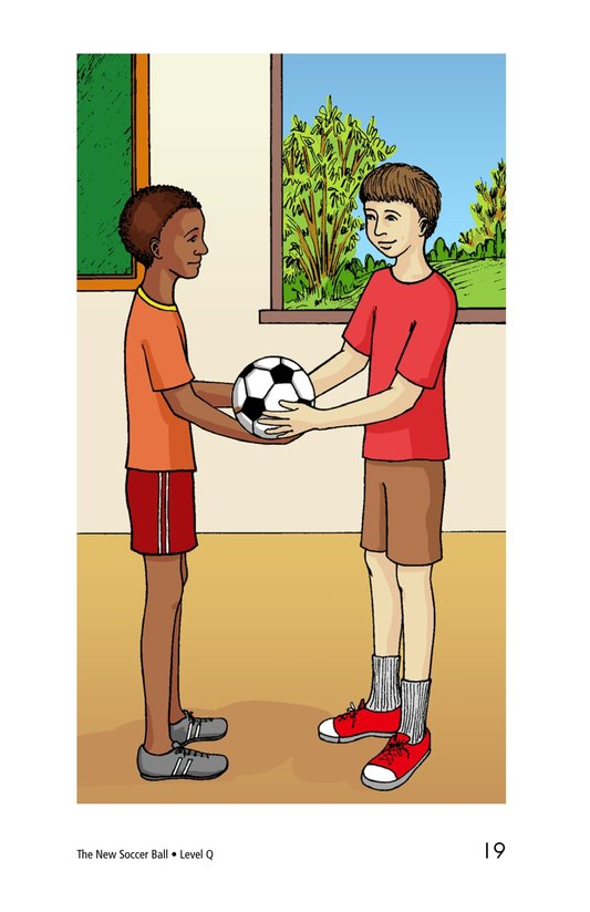 Book Preview For The New Soccer Ball Page 19