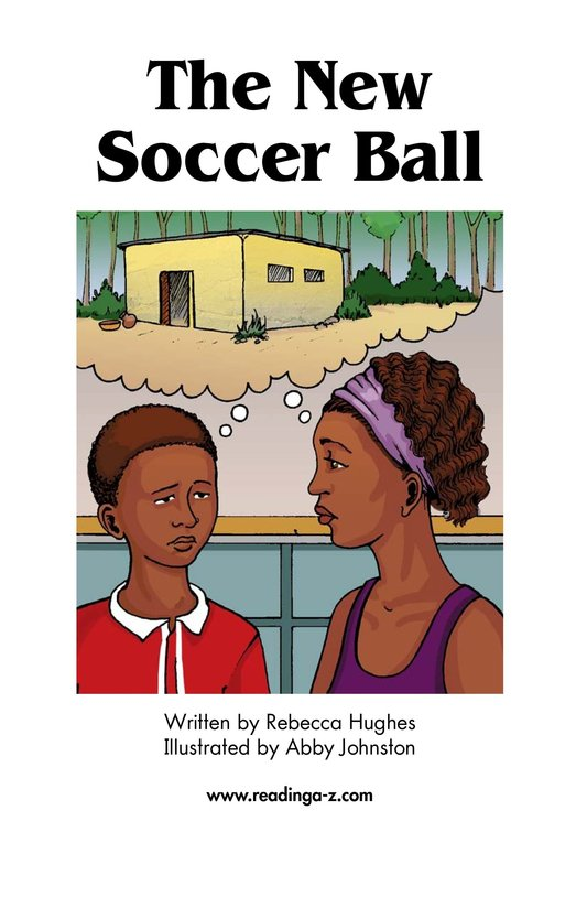 Book Preview For The New Soccer Ball Page 2