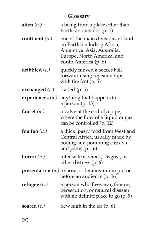 Book Preview For The New Soccer Ball Page 20