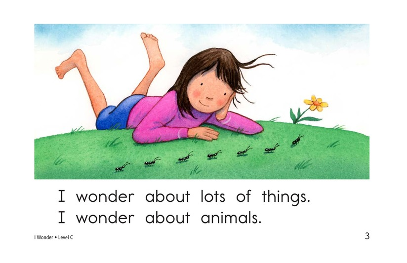 Book Preview For I Wonder Page 3