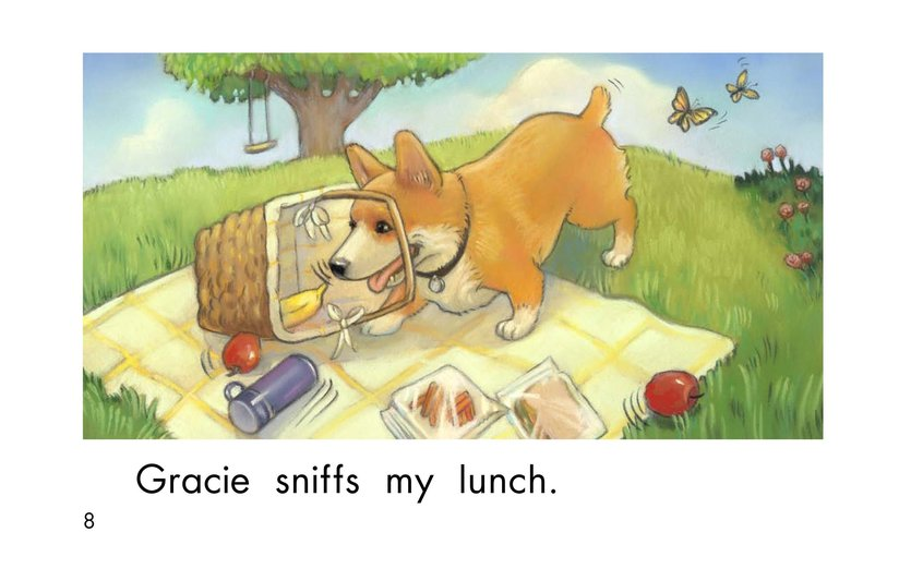 Book Preview For Gracie's Nose Page 8