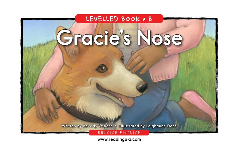 Book Preview For Gracie's Nose Page 1