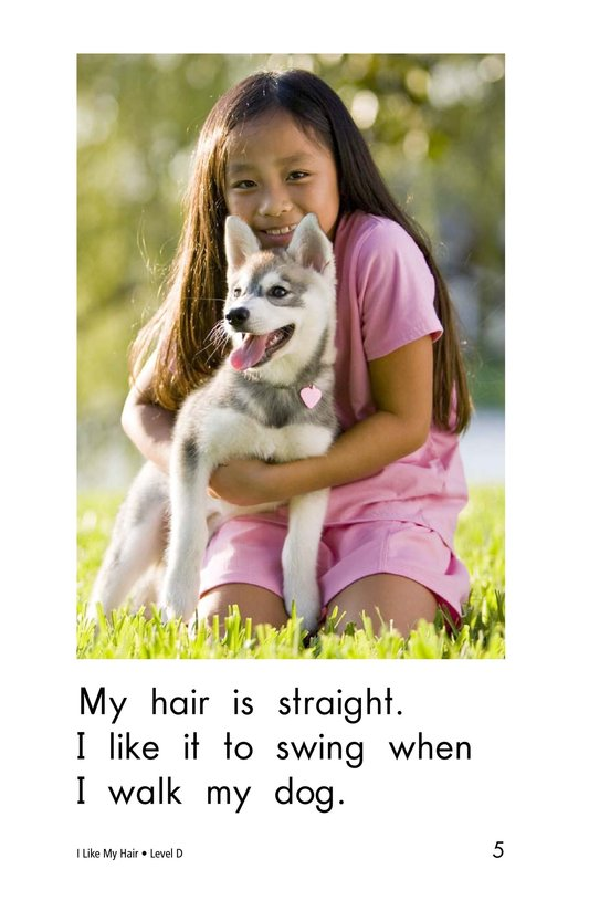 Book Preview For I Like My Hair Page 5