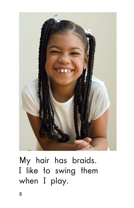 Book Preview For I Like My Hair Page 8