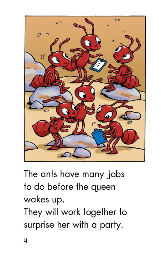Book Preview For The Queen Ant's Birthday Page 4