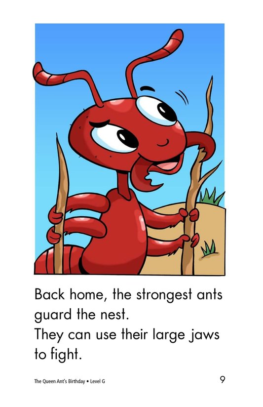 Book Preview For The Queen Ant's Birthday Page 9