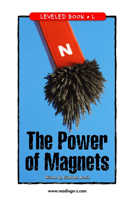 Book Preview For The Power of Magnets Page 1