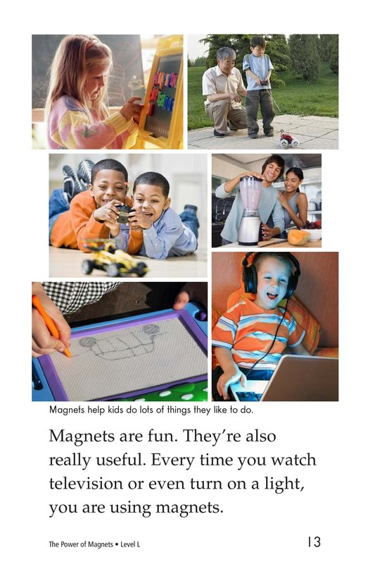 Book Preview For The Power of Magnets Page 13