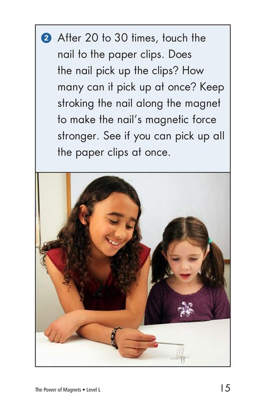 Book Preview For The Power of Magnets Page 15
