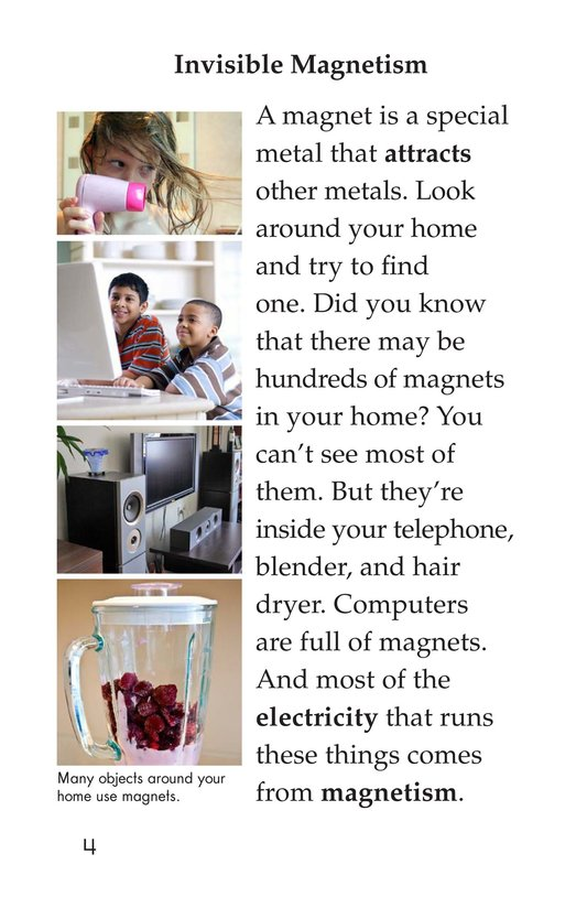Book Preview For The Power of Magnets Page 4