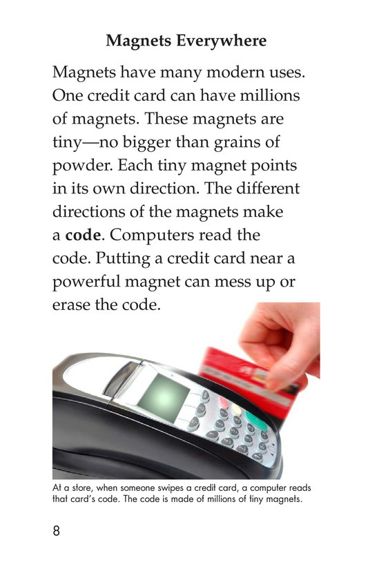 Book Preview For The Power of Magnets Page 8