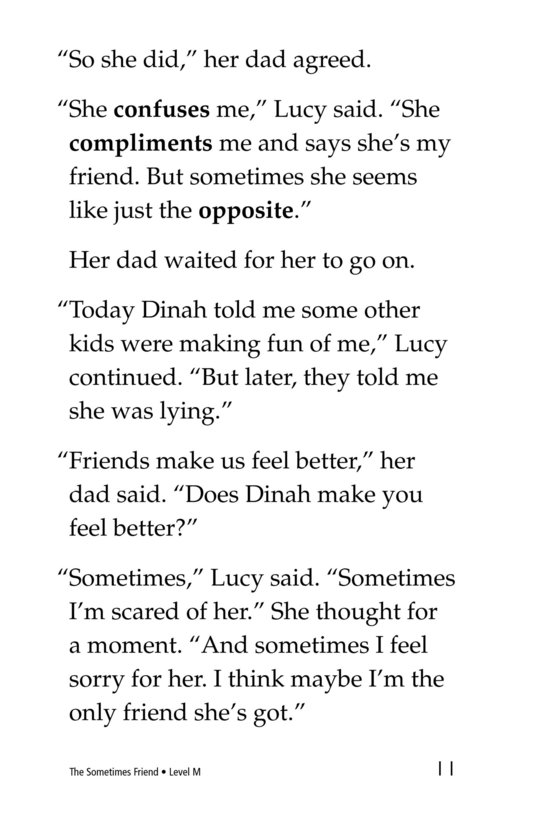 Book Preview For The Sometimes Friend Page 11