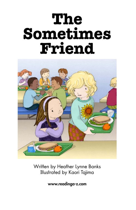 Book Preview For The Sometimes Friend Page 2