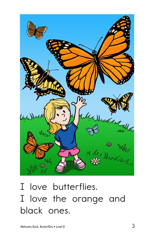 Book Preview For Welcome Back, Butterflies Page 3