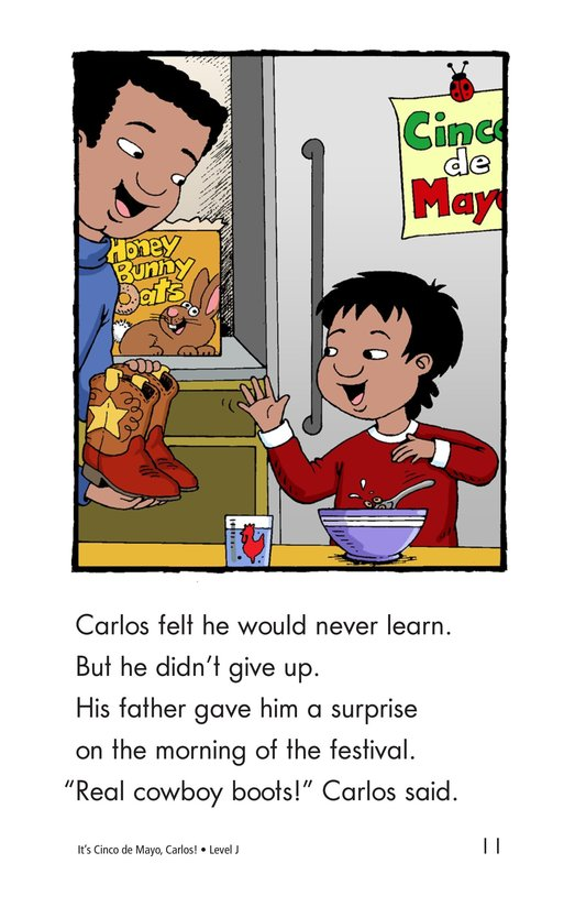 Book Preview For It's Cinco de Mayo, Carlos! Page 11