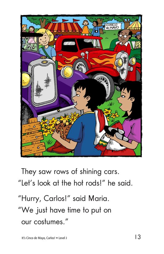 Book Preview For It's Cinco de Mayo, Carlos! Page 13