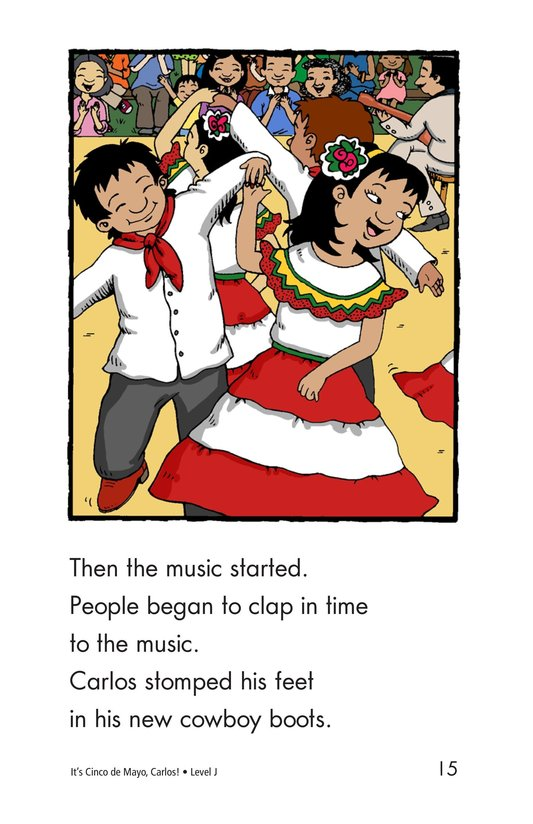 Book Preview For It's Cinco de Mayo, Carlos! Page 15