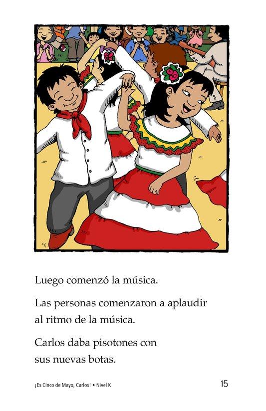 Book Preview For It's Cinco de Mayo, Carlos! Page 15