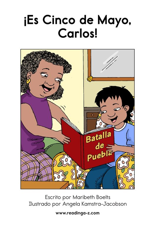 Book Preview For It's Cinco de Mayo, Carlos! Page 2