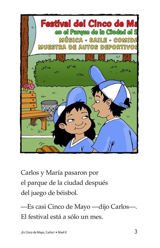 Book Preview For It's Cinco de Mayo, Carlos! Page 3