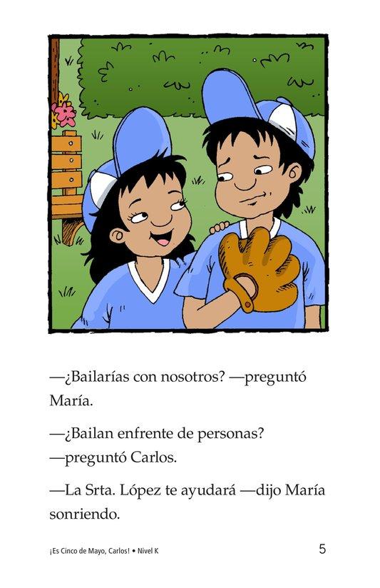 Book Preview For It's Cinco de Mayo, Carlos! Page 5