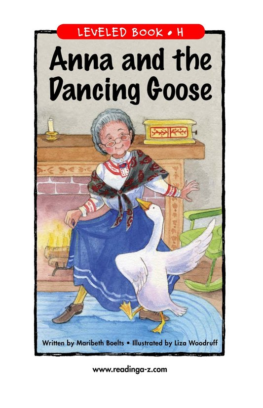Book Preview For Anna and the Dancing Goose Page 1