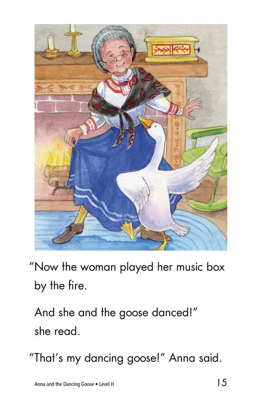 Book Preview For Anna and the Dancing Goose Page 15
