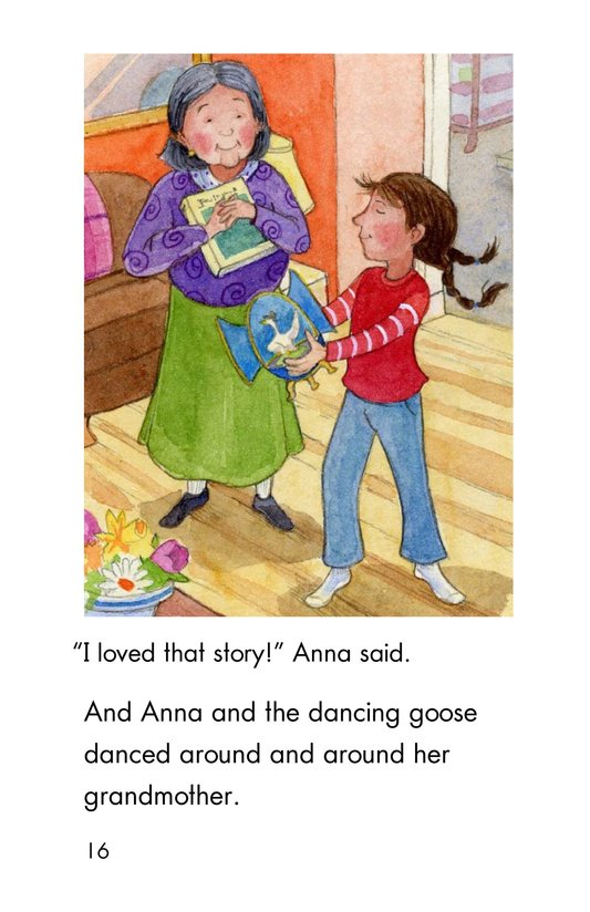 Book Preview For Anna and the Dancing Goose Page 16