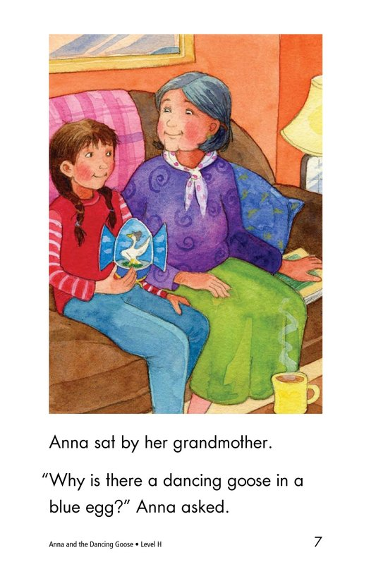 Book Preview For Anna and the Dancing Goose Page 7