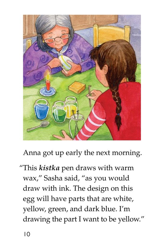 Book Preview For Anna and the Painted Eggs Page 10