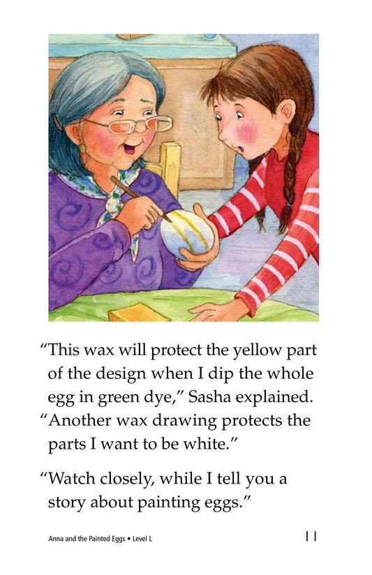 Book Preview For Anna and the Painted Eggs Page 11