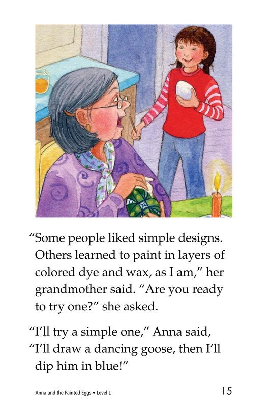 Book Preview For Anna and the Painted Eggs Page 15