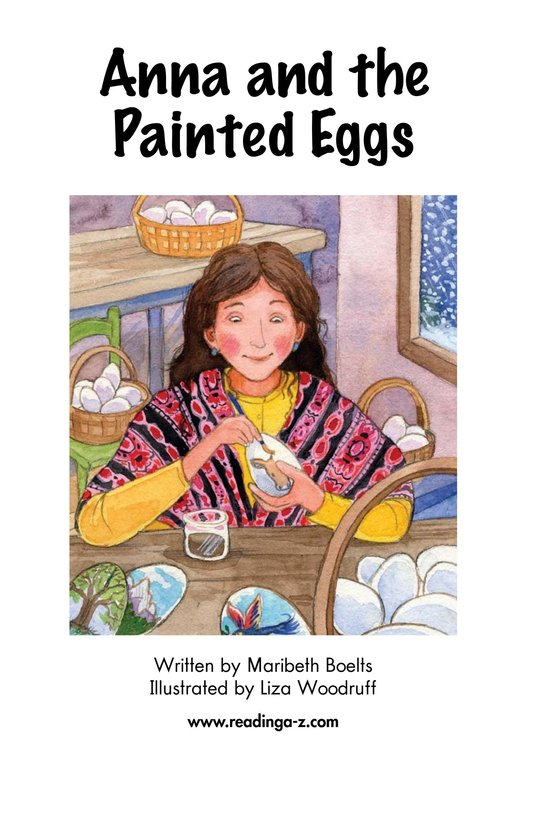 Book Preview For Anna and the Painted Eggs Page 2