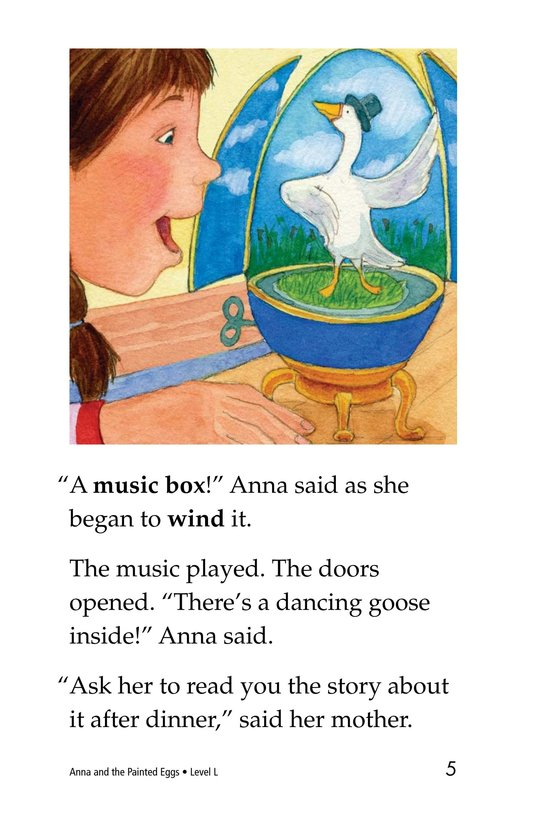 Book Preview For Anna and the Painted Eggs Page 5