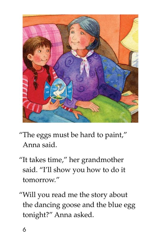 Book Preview For Anna and the Painted Eggs Page 6